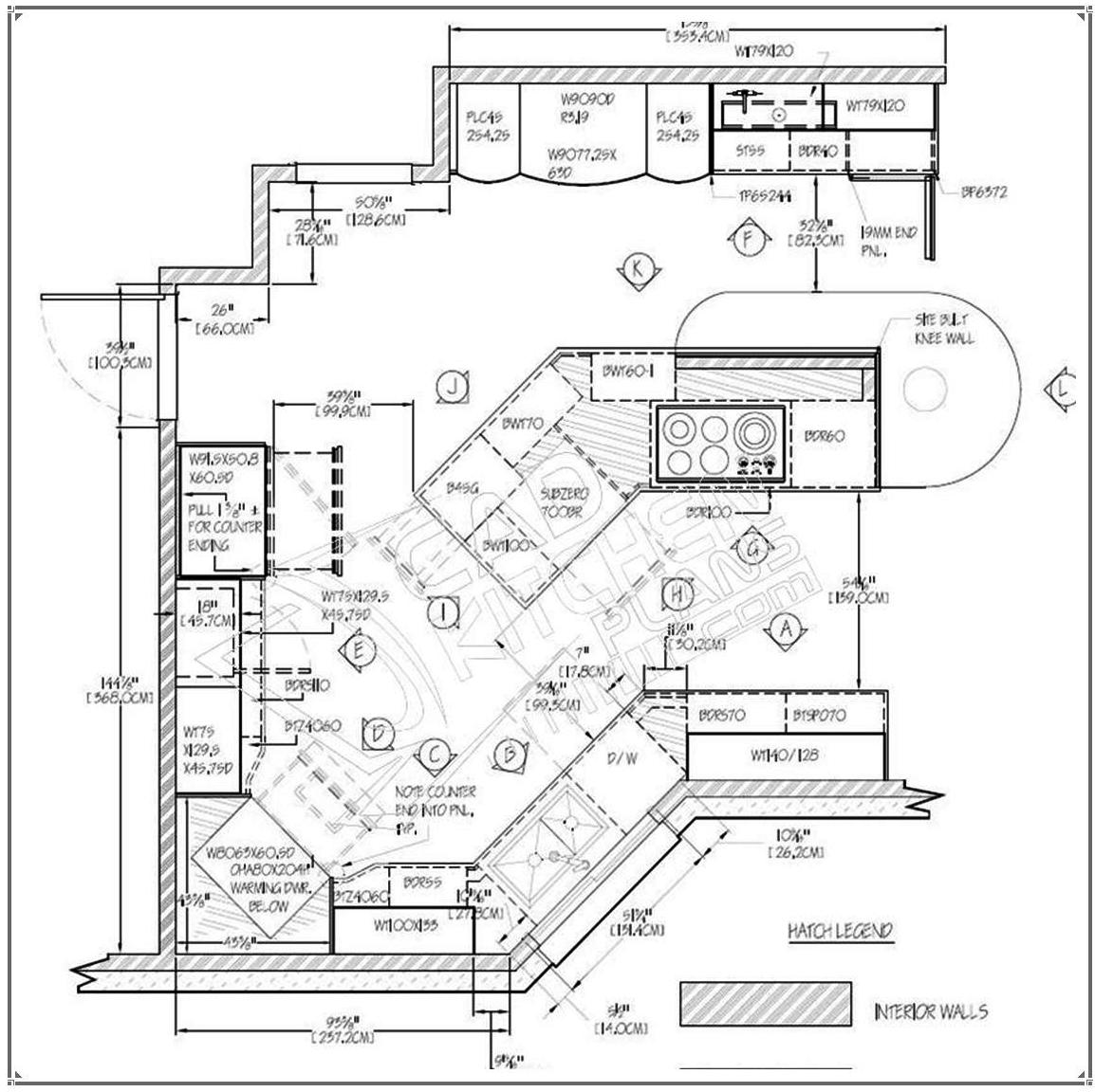 Kitchen Cabinet Drawing At Getdrawings