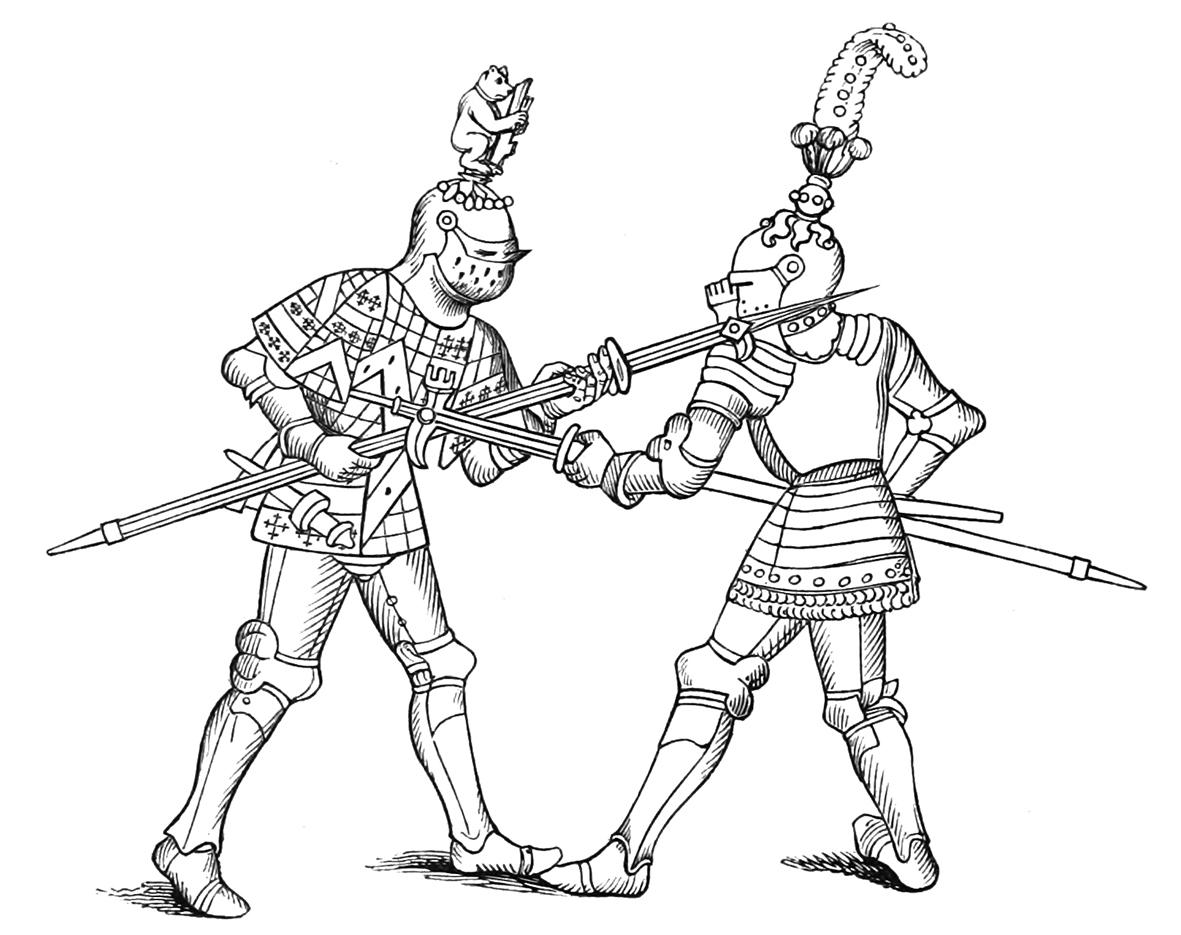 Knights Drawing At Getdrawings