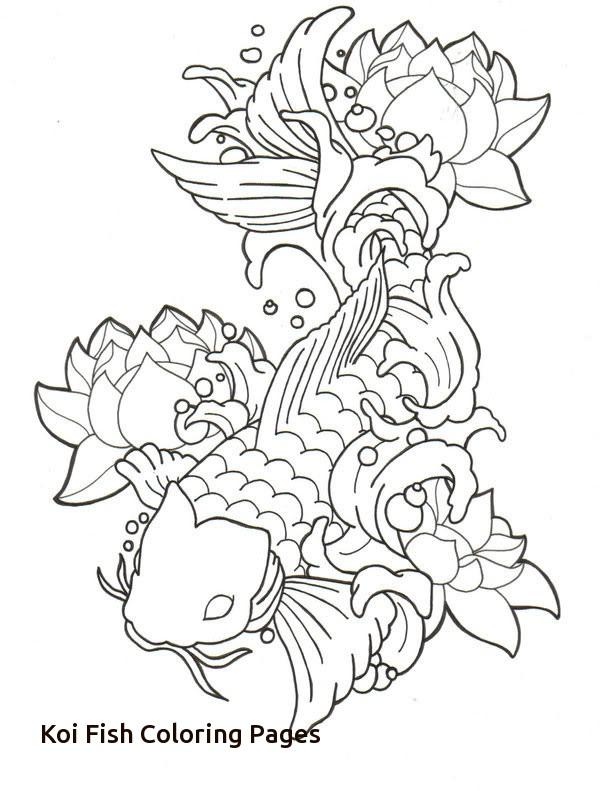 Drawn Koi Fish Baby