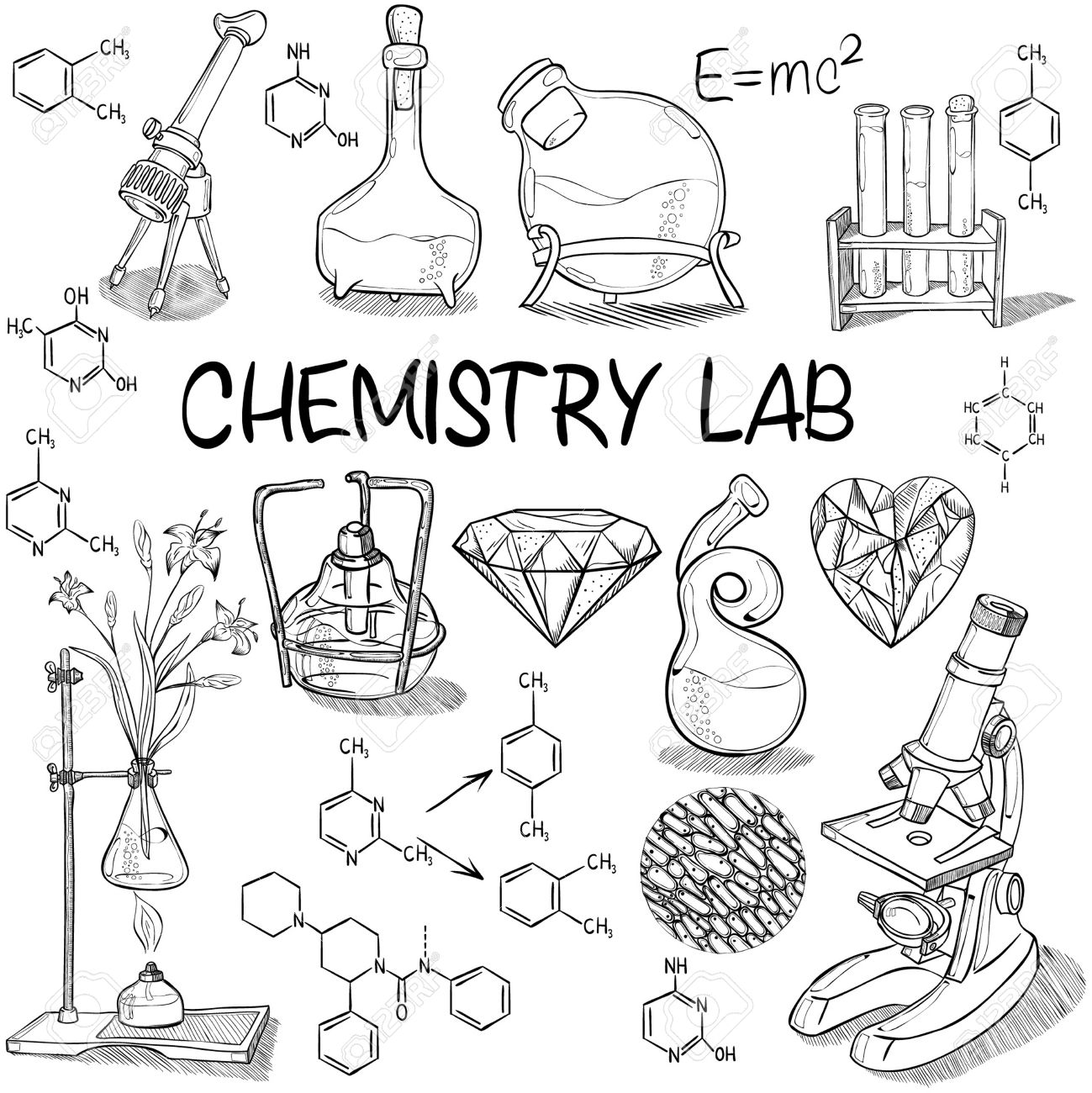 The best free Chemistry drawing images. Download from 356