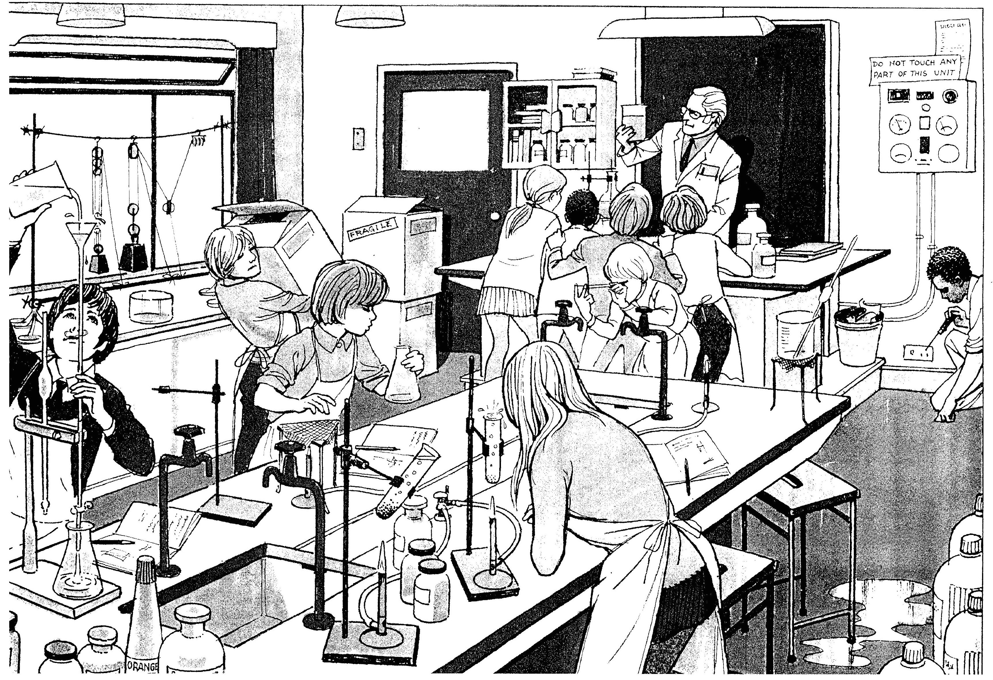 Laboratory Drawing At Getdrawings