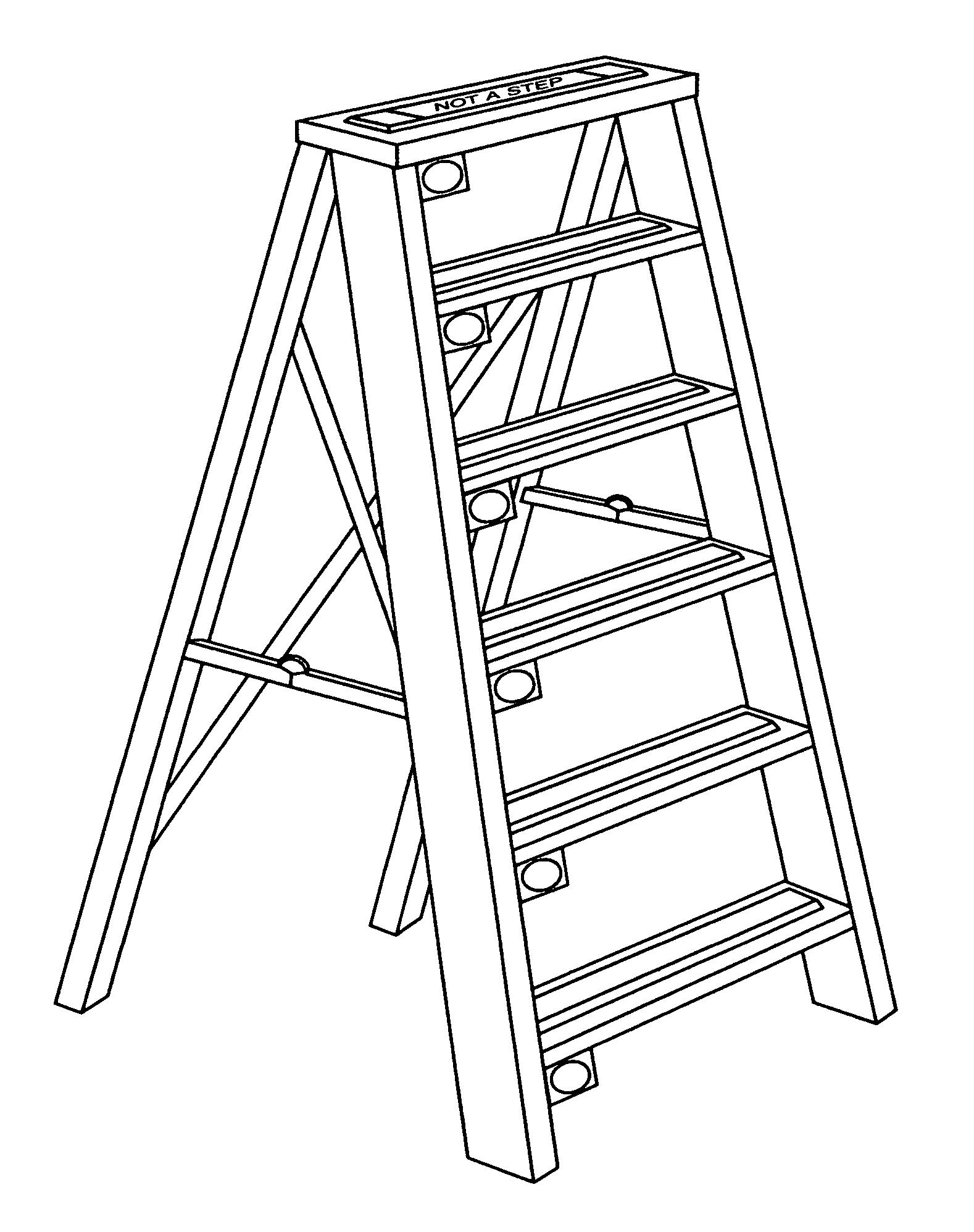Ladder Drawing At Getdrawings