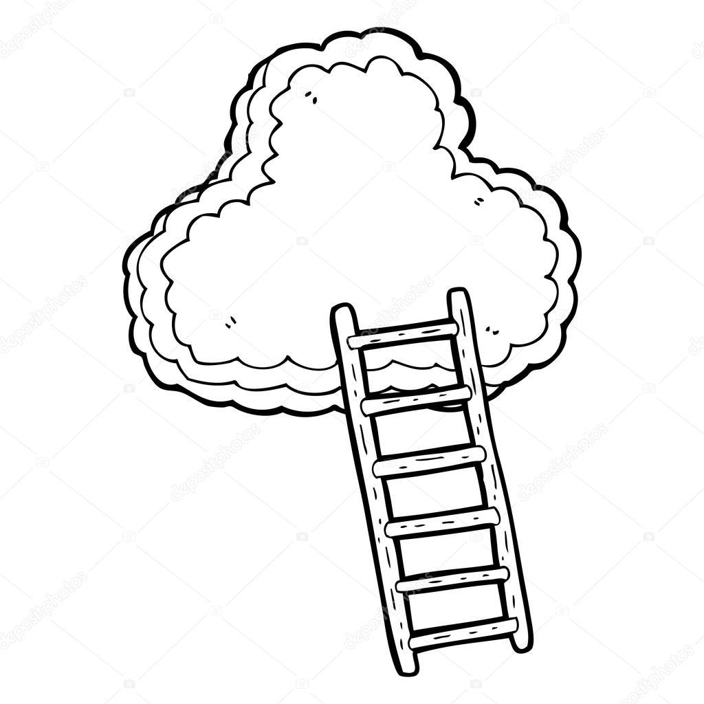Ladder Line Drawing At Getdrawings