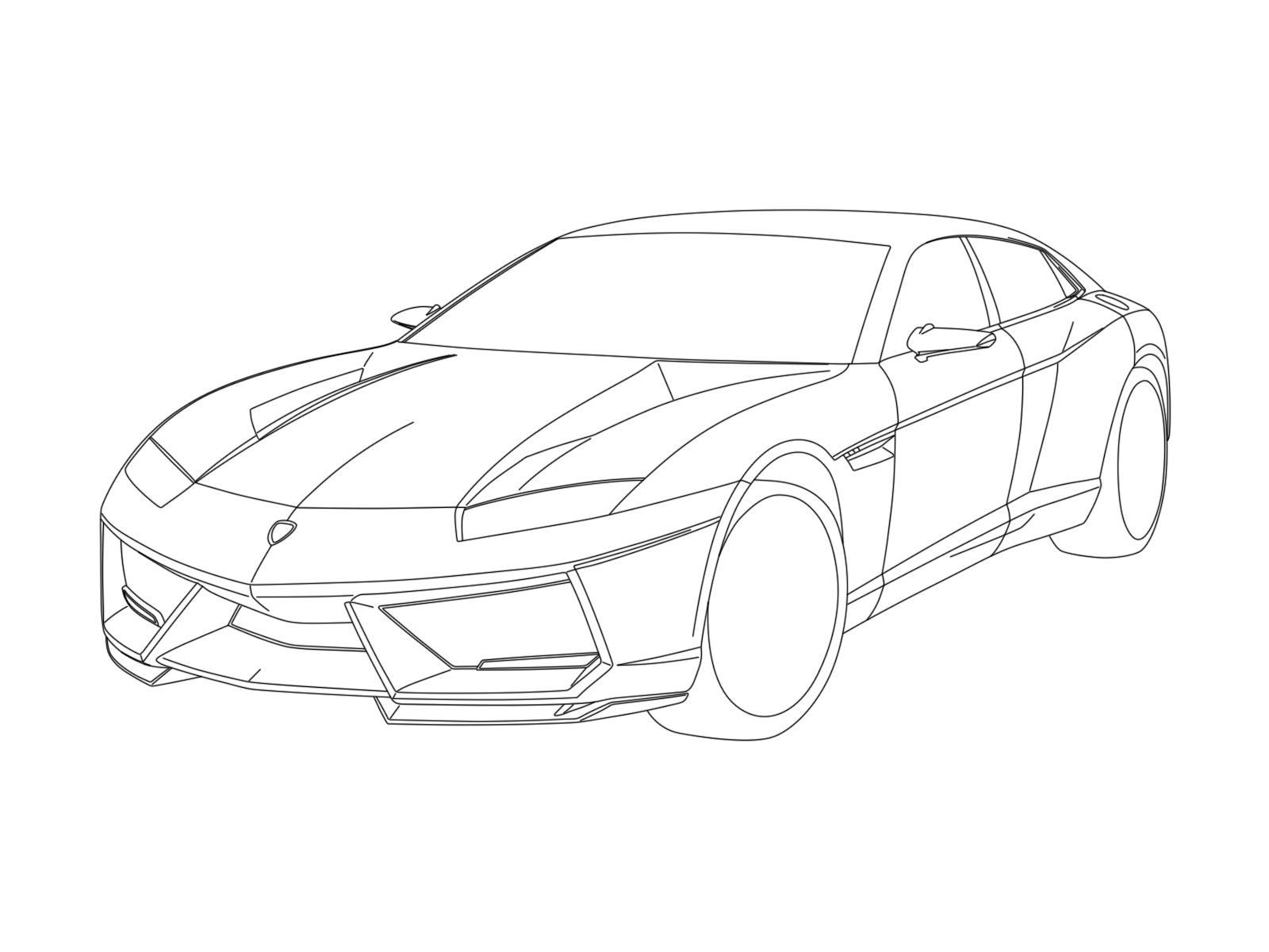 Lamborghini Veneno Drawing At Getdrawings Com Auto Electrical