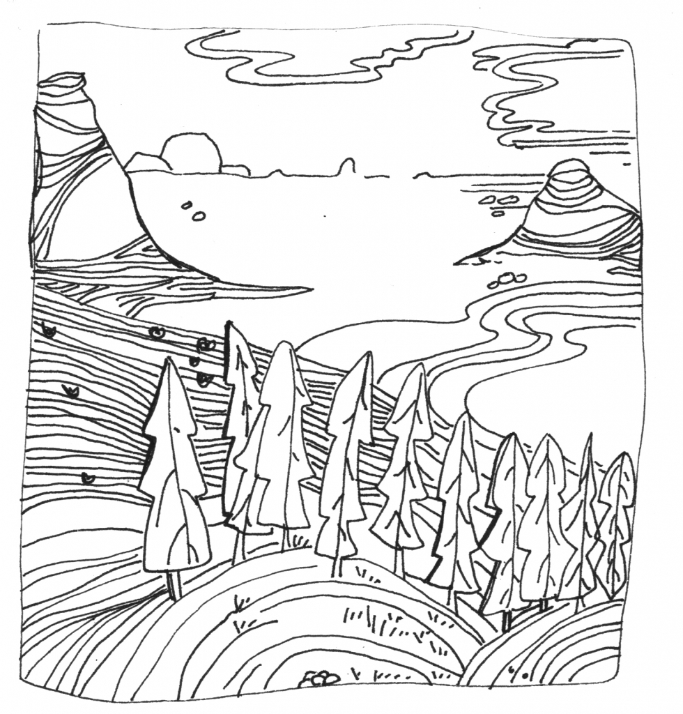 Landscape drawing at getdrawings free for personal use landscape drawing 23 landscape drawing