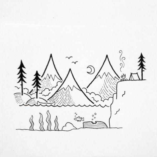 Search for Landscape drawing at GetDrawingscom