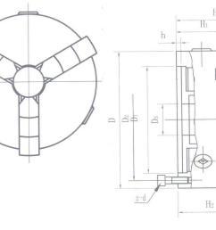 1298x950 shars 6 3 jaw self centering scroll lathe chucks solid 2 sets [ 1298 x 950 Pixel ]