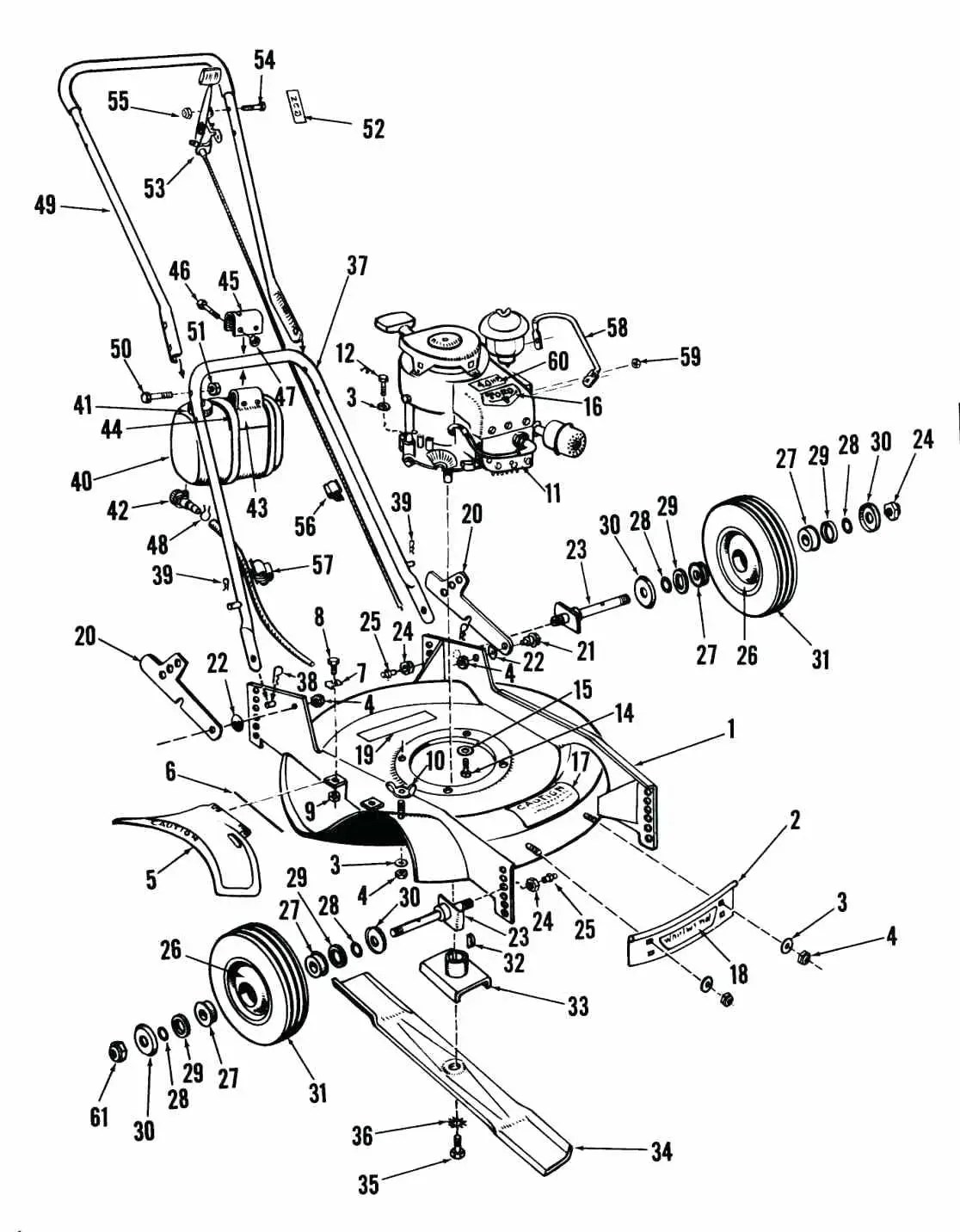 hight resolution of 1116x1432 toro recycler parts diagram honda lawn mower engine murray self