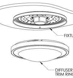 1546x1248 12 flush mount led ceiling light w white housing [ 1546 x 1248 Pixel ]