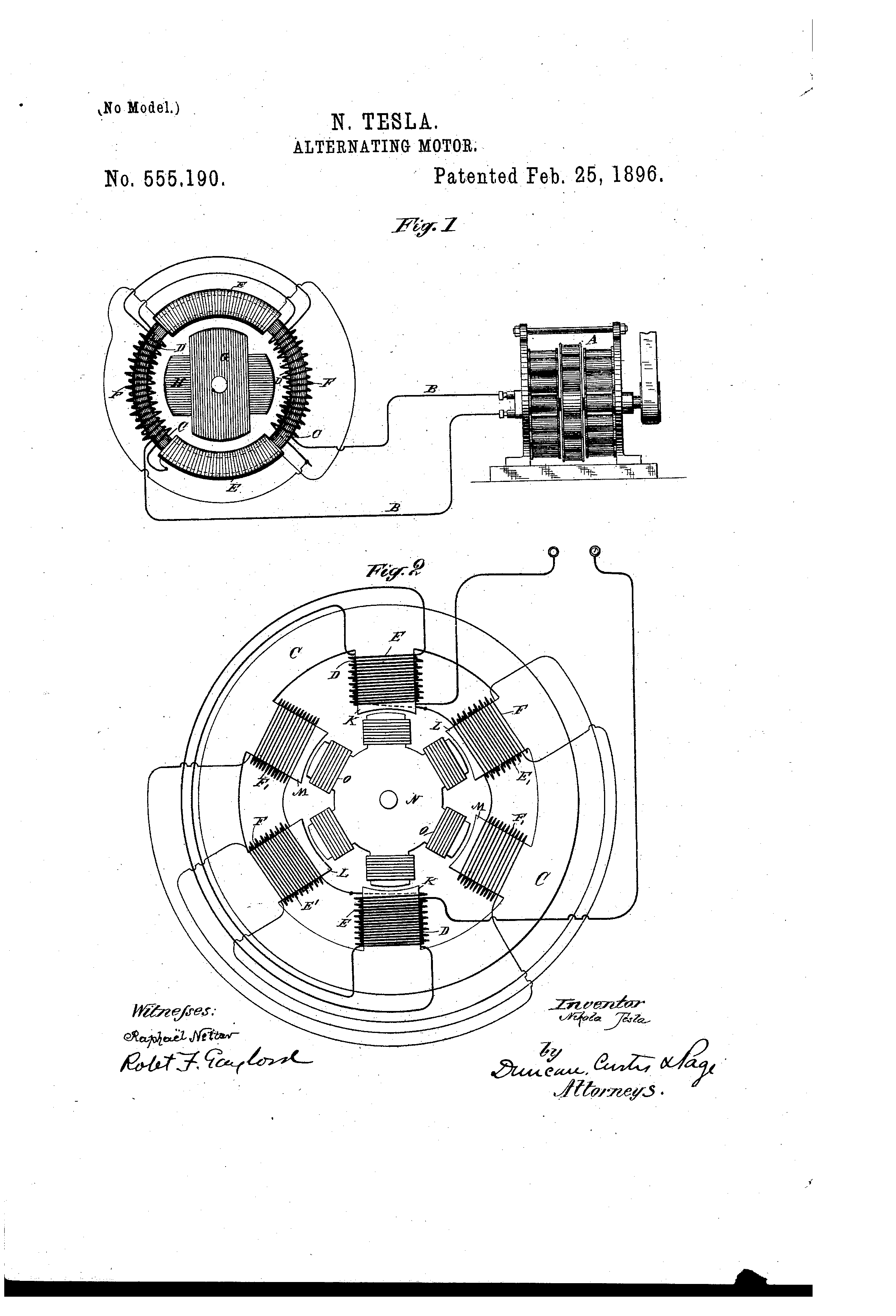2320x3408 patent us555190 motor patents drawing wiring diagram
