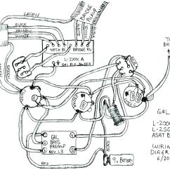 50 S Style Les Paul Wiring Diagram 2001 Mitsubishi Mirage Radio Drawing At Getdrawings Free For Personal
