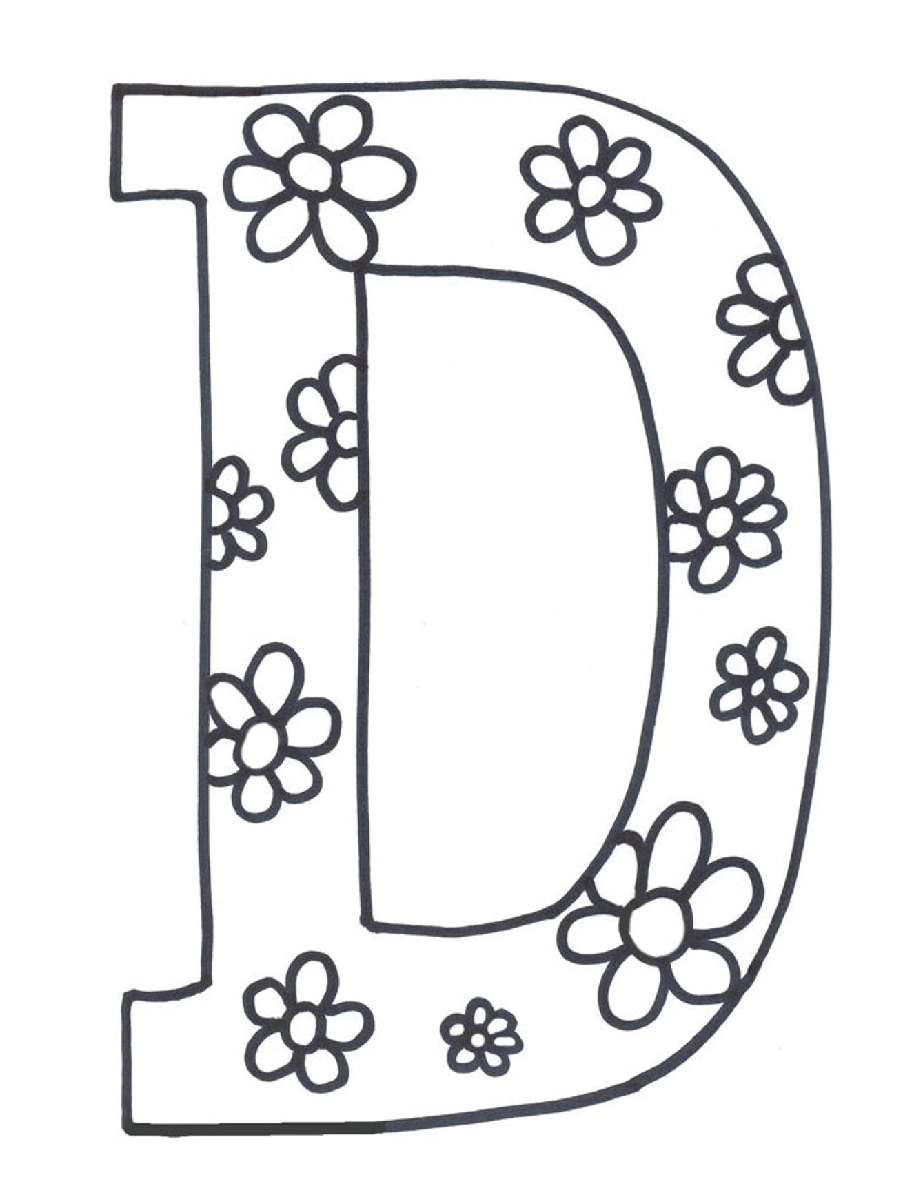 Letter D Drawing At Getdrawings