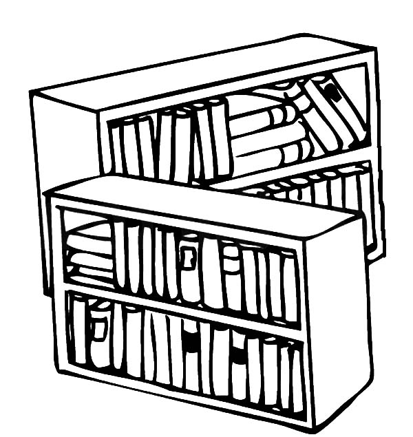 Library Books Drawing At Getdrawings Com