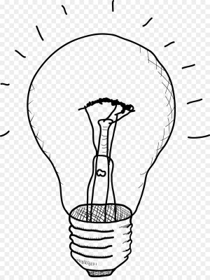 bulb drawing sketch incandescent getdrawings sketches paintingvalley