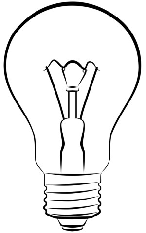 bulb drawing lamp clipart weight loss illustration drawings cliparts clipartpanda electric getdrawings bulbs panda vector depositphotos library clip outlines plan