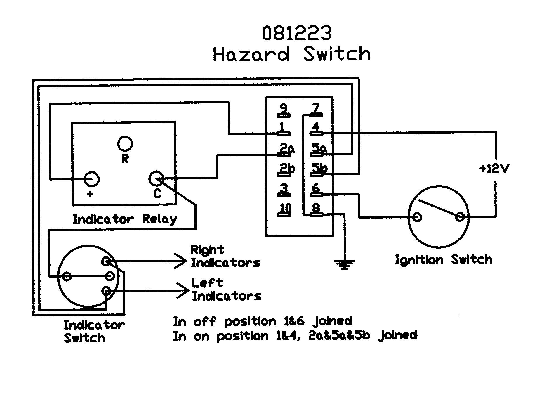 hight resolution of  rotary switch wiring diagram 1904x1424 rocker hazard switch light