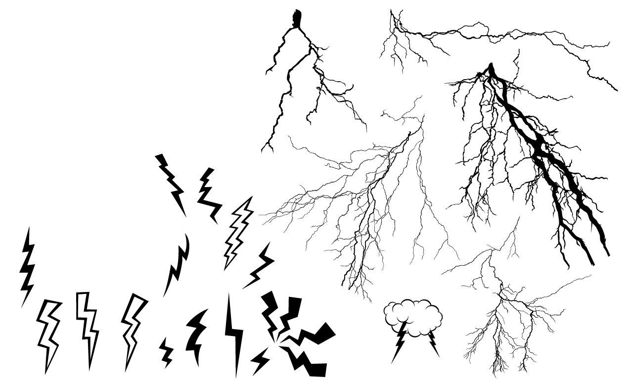 Lightning Bolt Drawing At Getdrawings
