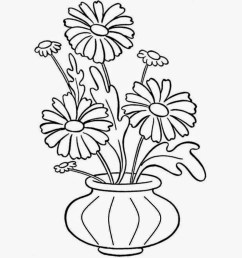1444x1319 flower pot draw emages pot plant clipart line drawing flower [ 1444 x 1319 Pixel ]