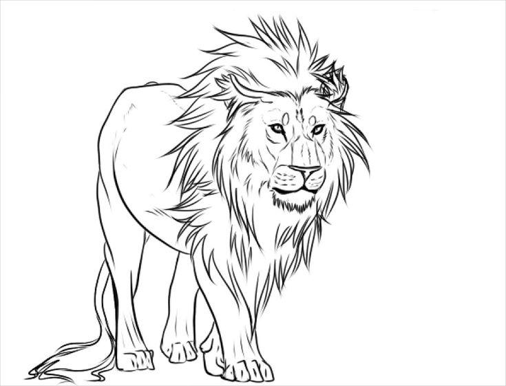 Hercules Lion Head Tattoo