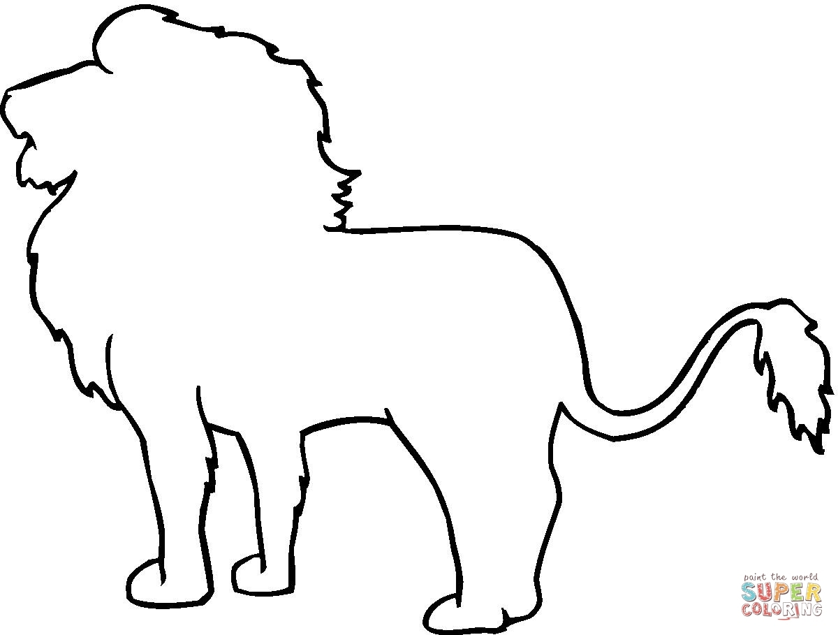 Lion Face Line Drawing At Getdrawings