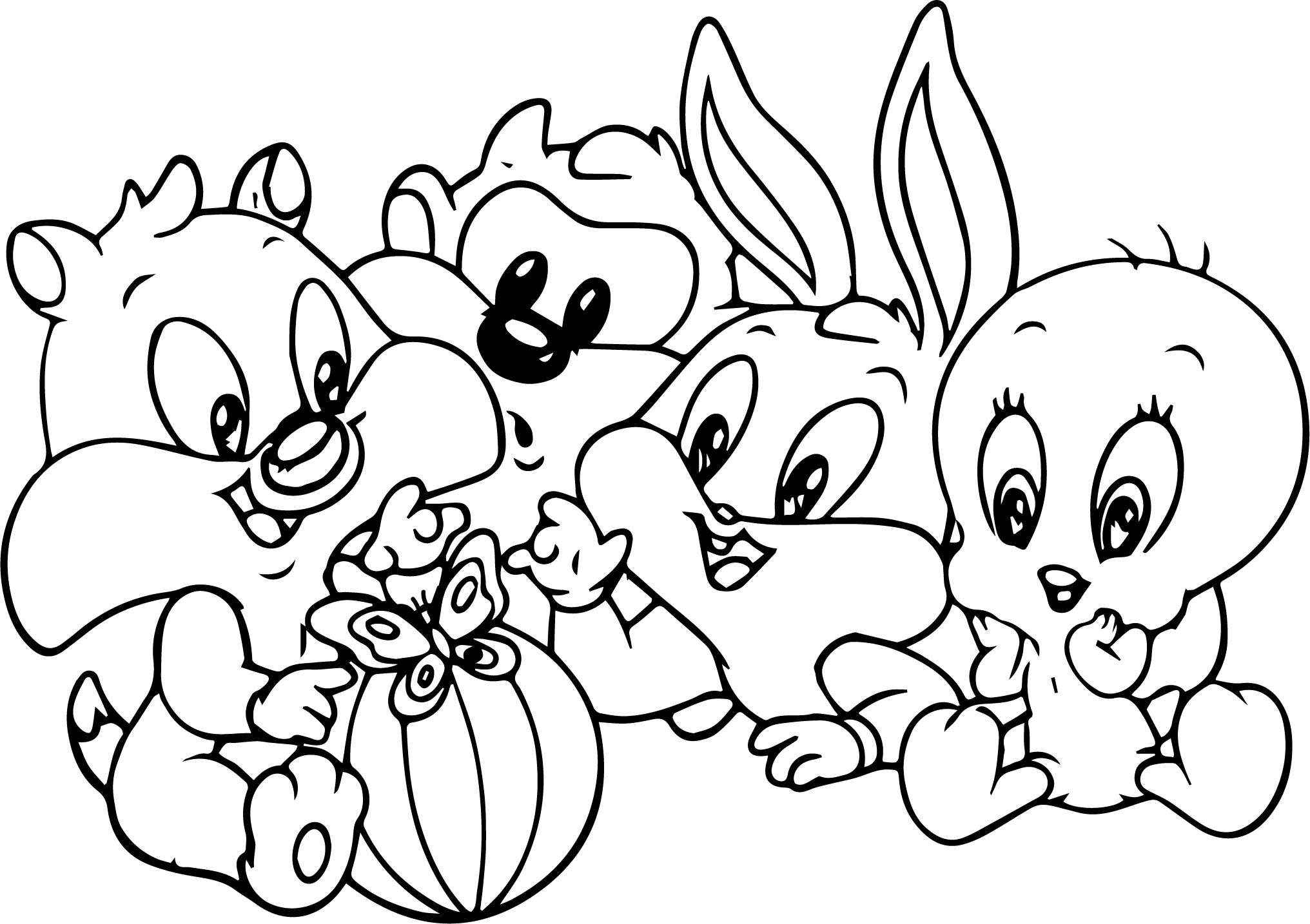 Looney Tune Drawing At Getdrawings