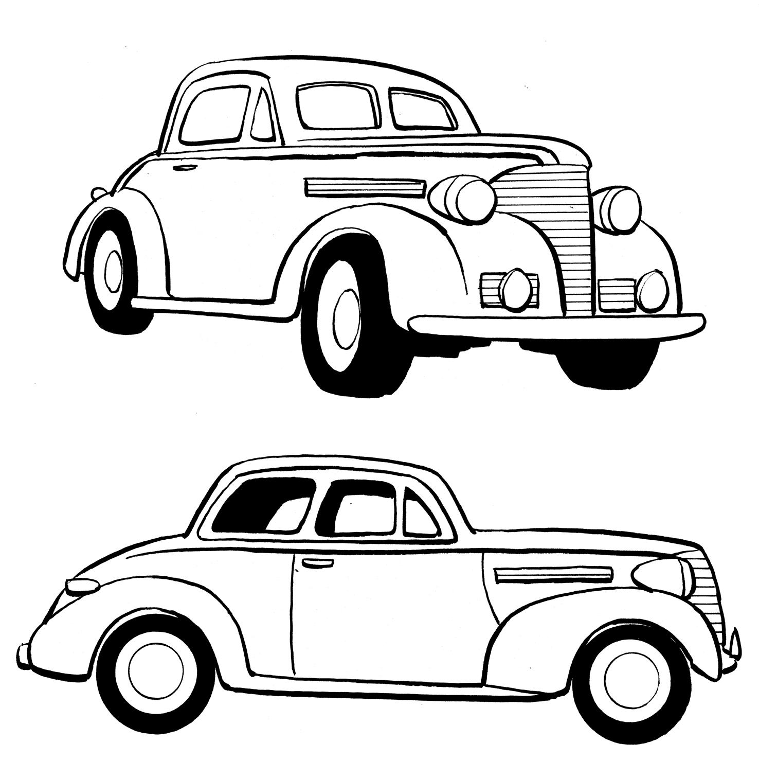 Lowrider Cars Drawing At Getdrawings