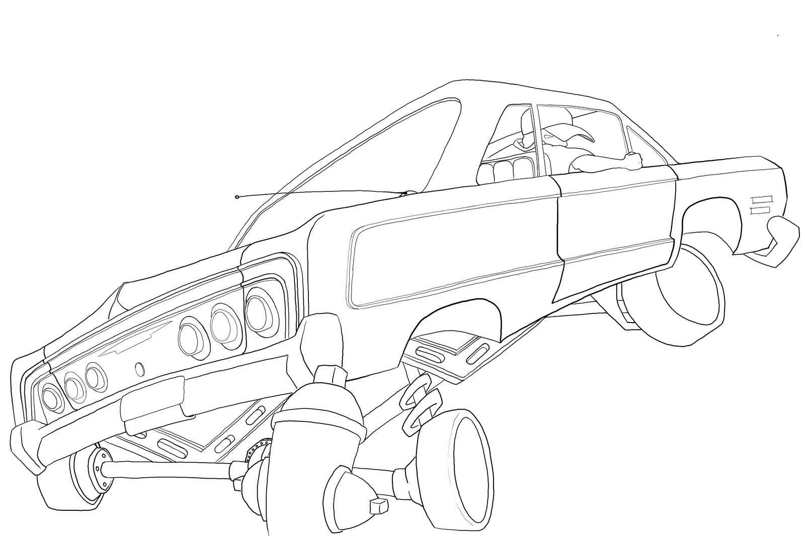 The best free Impala drawing images. Download from 127