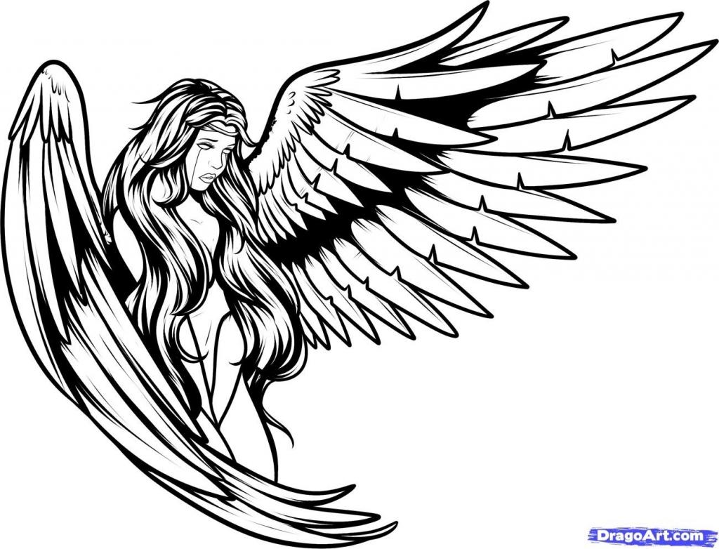 Guardian Angel Archangel Warrior Tattoo