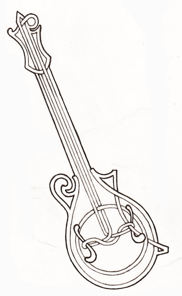 The best free Mandolin drawing images. Download from 42