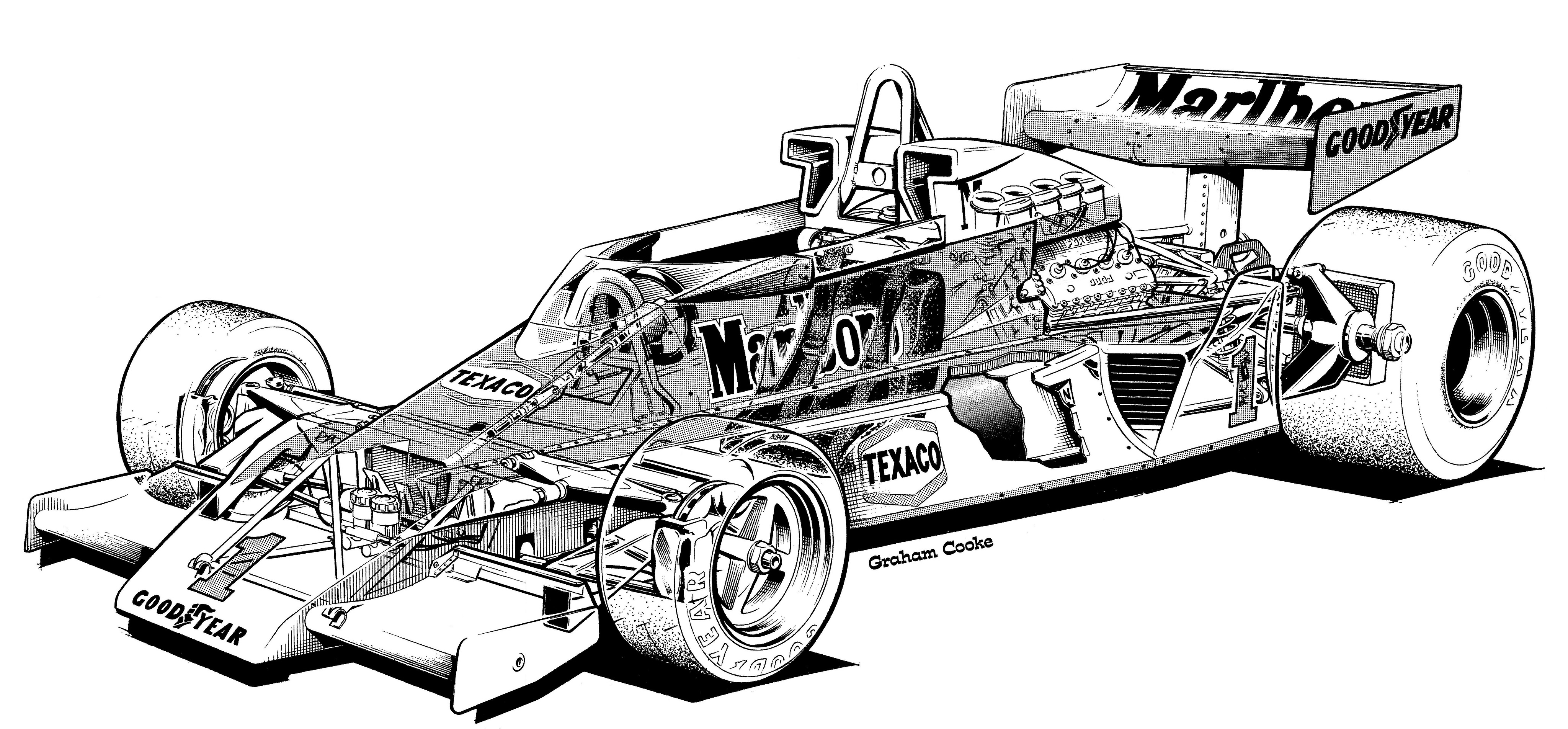 Mclaren Drawing At Getdrawings