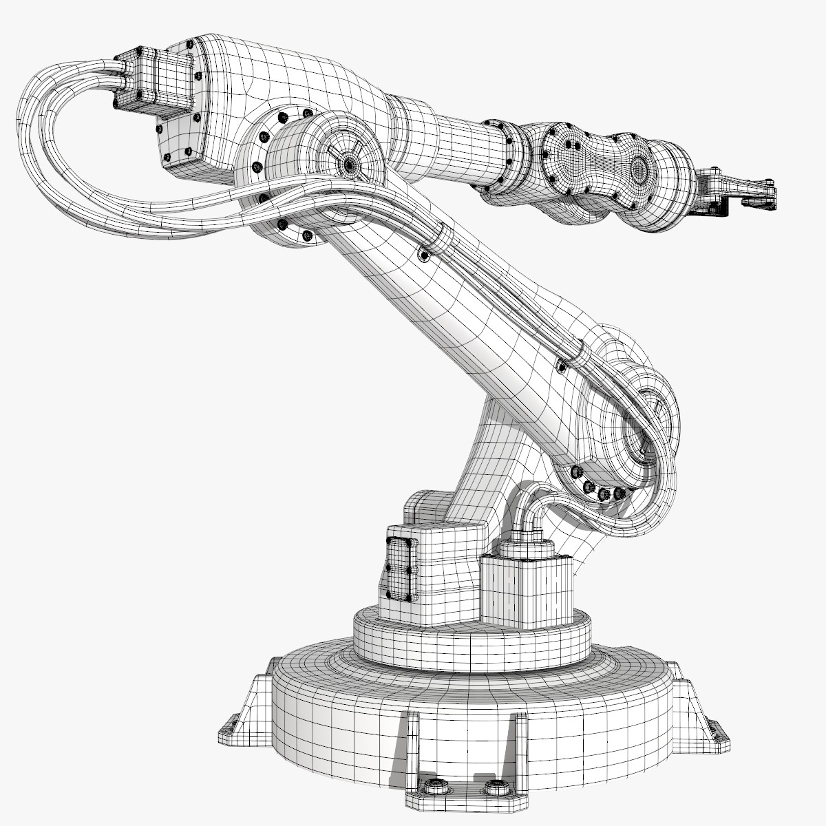 Mechanical Arm Drawing At Getdrawings