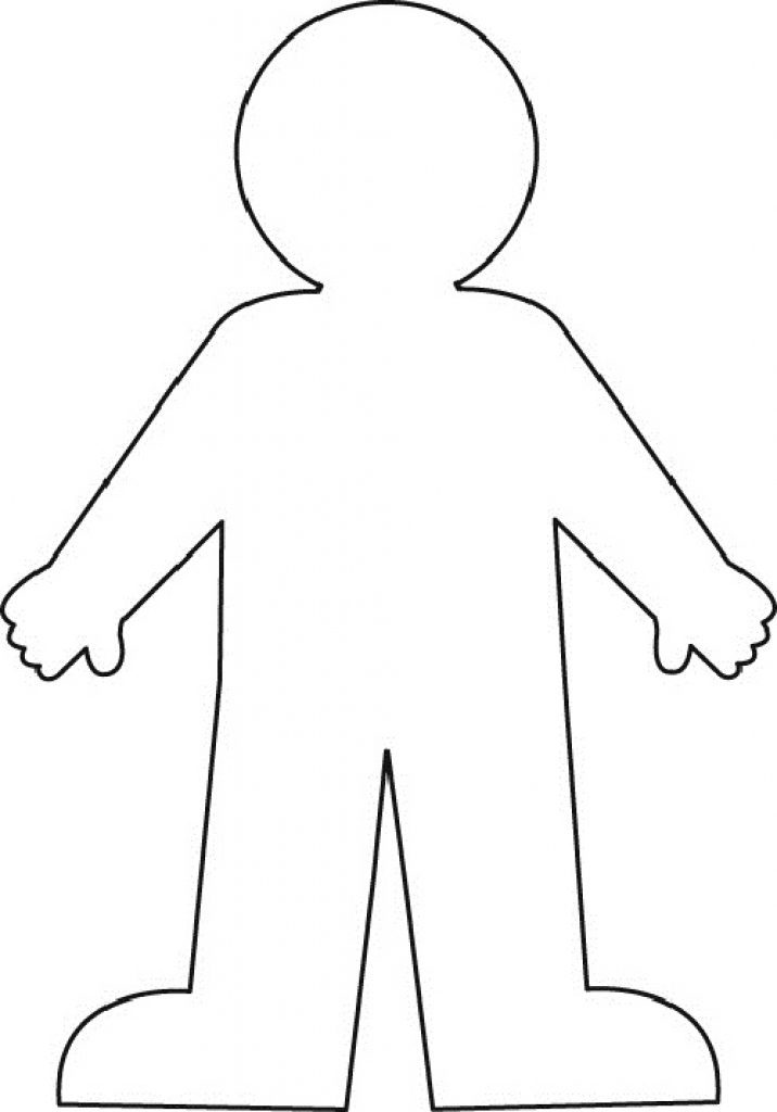 Body Template Drawing At Getdrawings Com