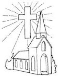 church coloring drawing pages going medieval building colour policy security simple colouring templates getdrawings procedures families sample