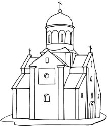 church coloring building pages print drawing medieval outline printable empire state churches indiana jones getdrawings religious coloringhome popular cathedrals getcolorings