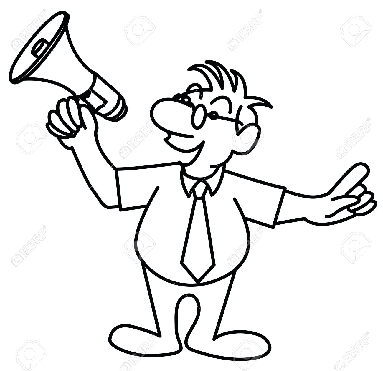 The Best Free Megaphone Drawing Images Download From 144