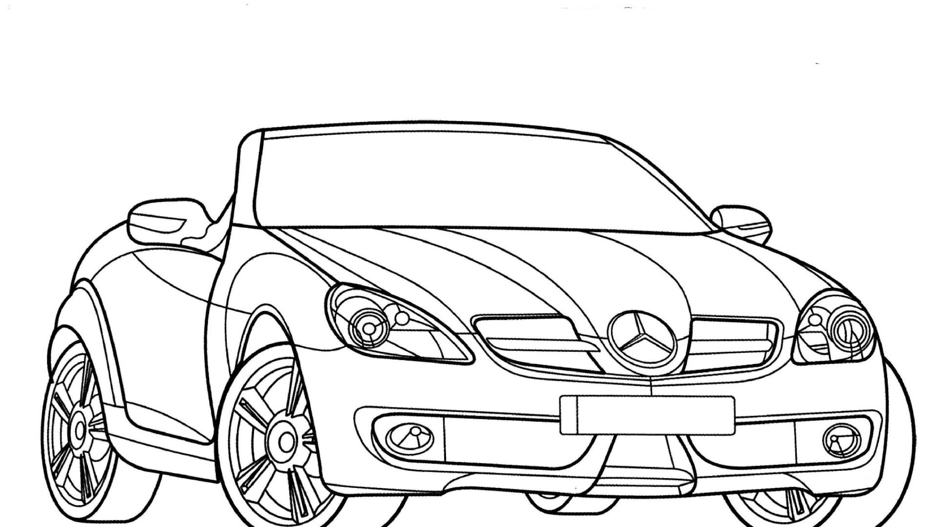 Mercedes Drawing At Getdrawings