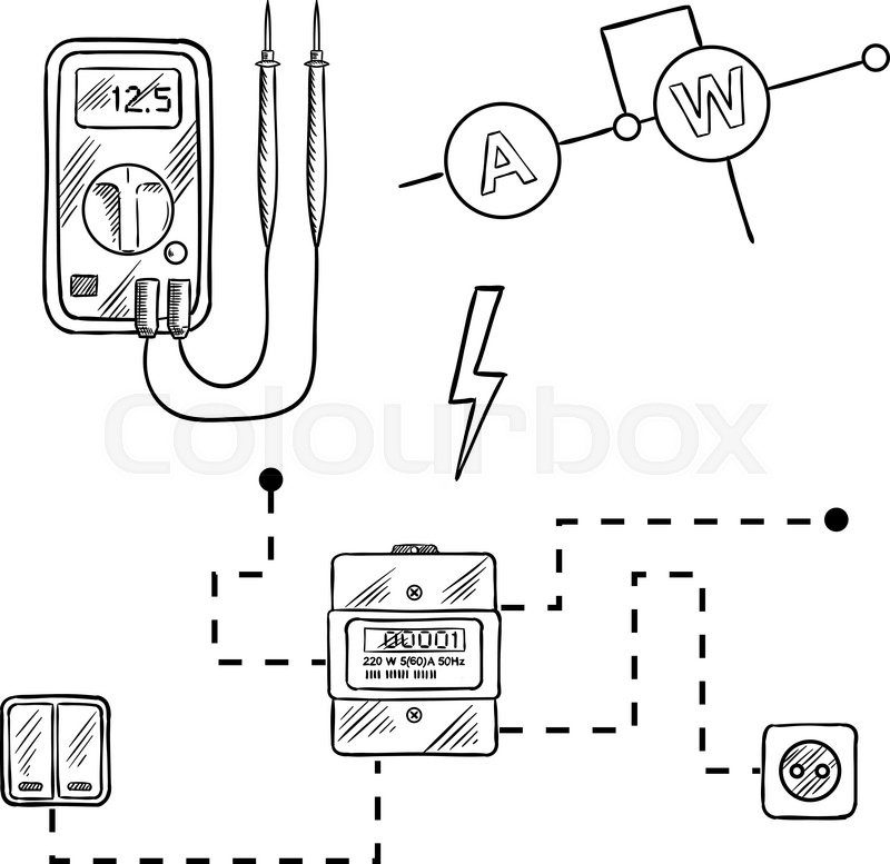 The best free Electricity drawing images. Download from
