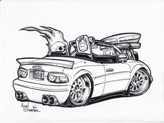 The best free Miata drawing images. Download from 41 free