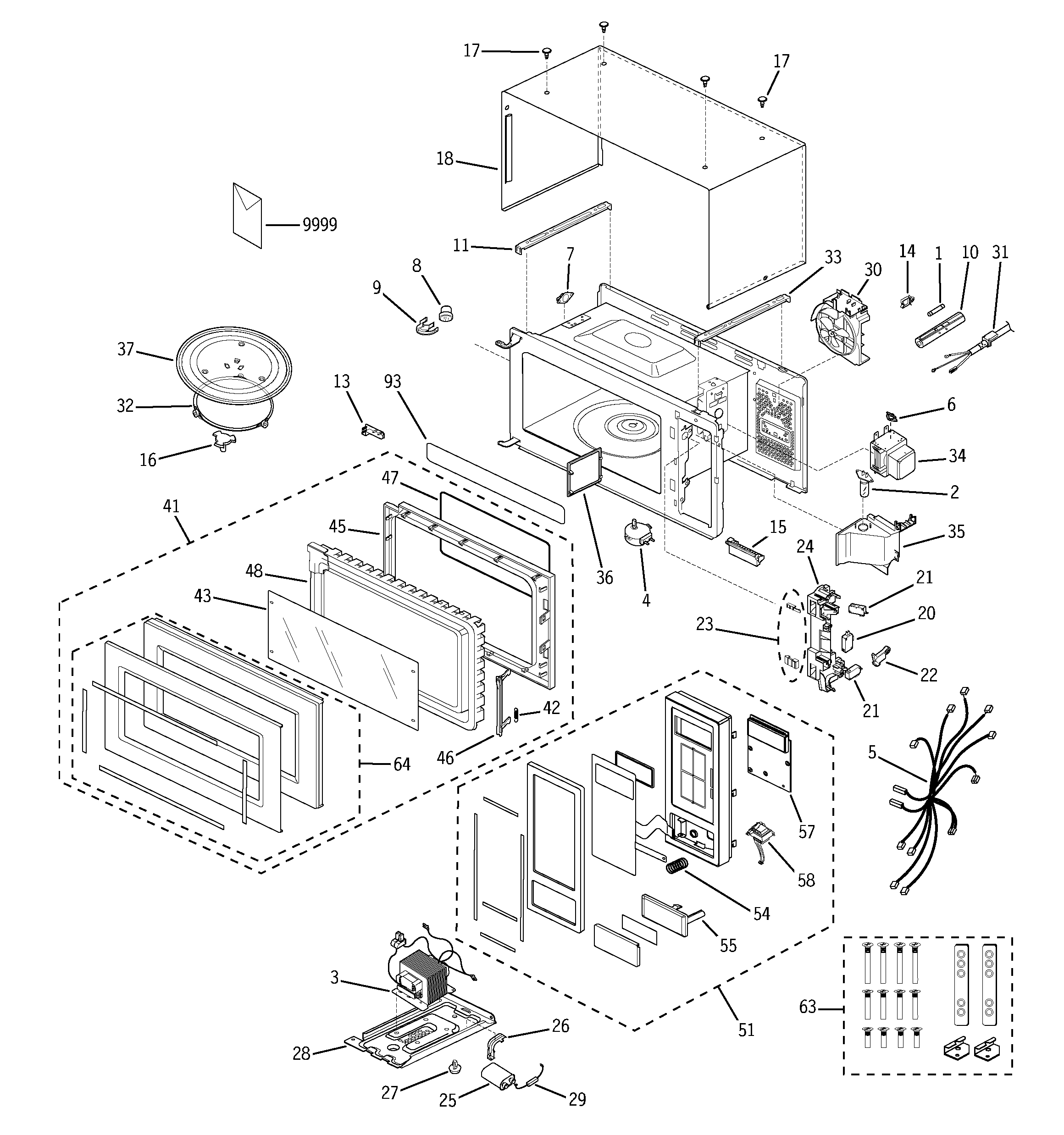 Microwave Oven Drawing At Getdrawings