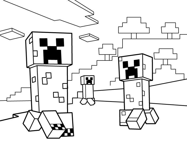 Minecraft Ender Dragon Sketch Coloring Page