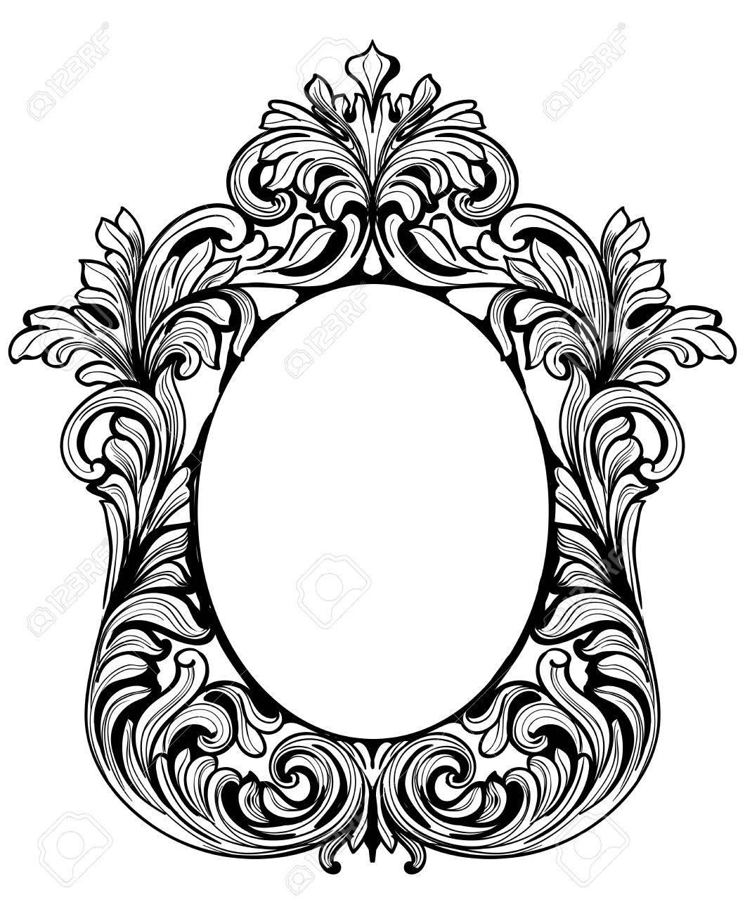 Mirror Frame Drawing At Getdrawings
