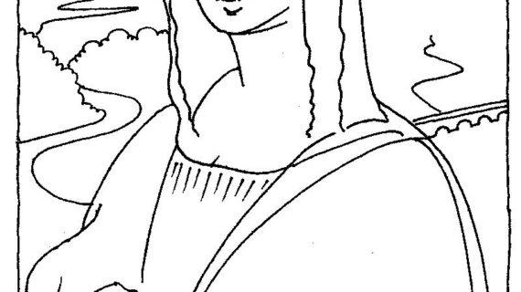 Da Vinci Painting Techniques For Mona Lisa