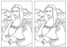 Mona Lisa Drawing at GetDrawings   Free download