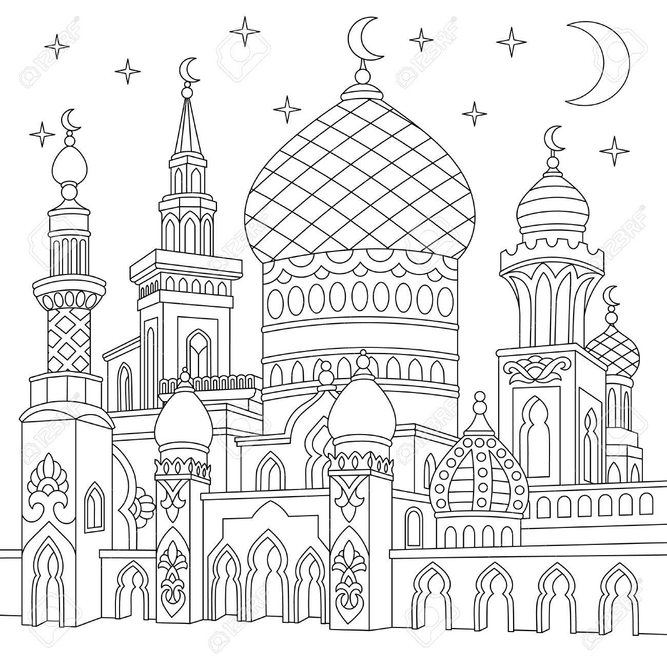 The best free Mosque drawing images. Download from 133