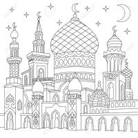 Mosque Drawing at GetDrawings   Free download