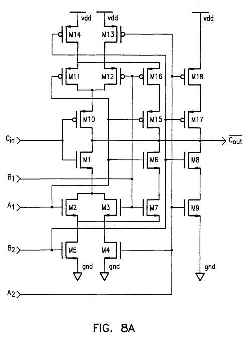 small resolution of 1808x2451 patent ep0764300b1 alternating polarity carry look ahead adder