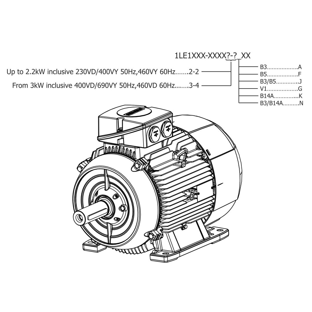 dc motor diagram illustration