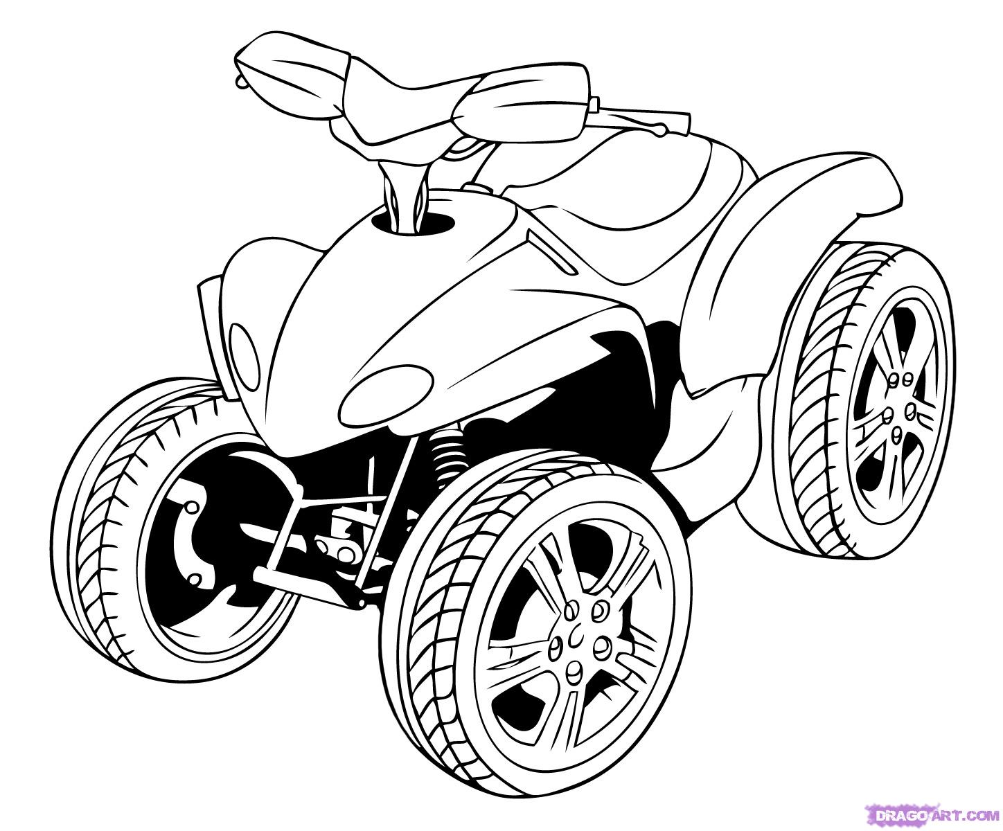 Motorcycle drawing simple at getdrawings free for personal use