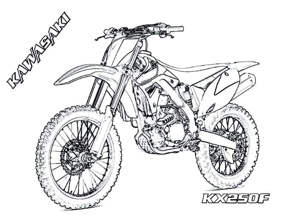 Motorcycle Simple Drawing At Getdrawings Com