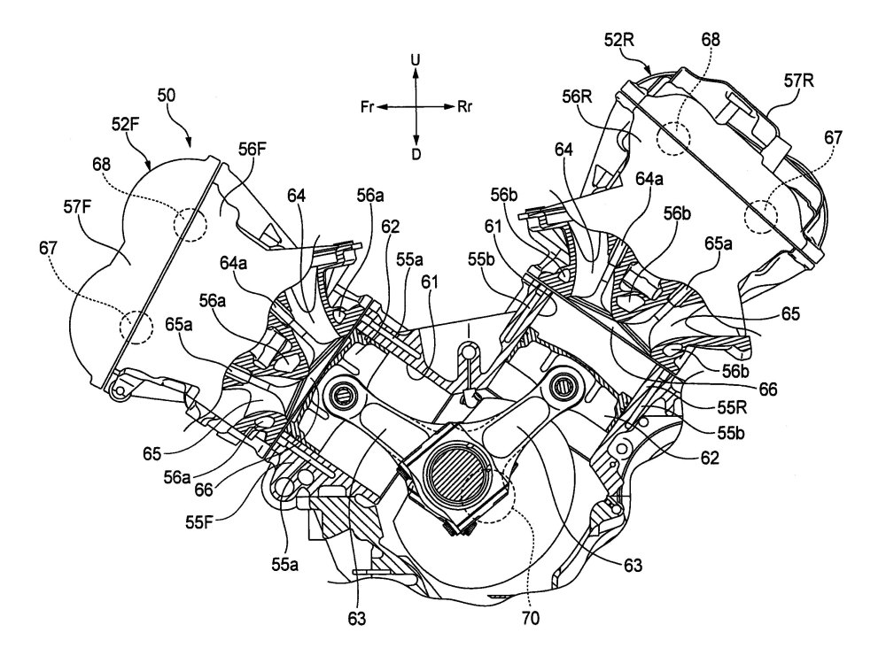 medium resolution of 2743x2010 honda v4 superbike engine outed in patent photos